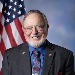 Rep. Don Young (R-Alaska). Photo courtesy of Office of Rep. Don Young.
