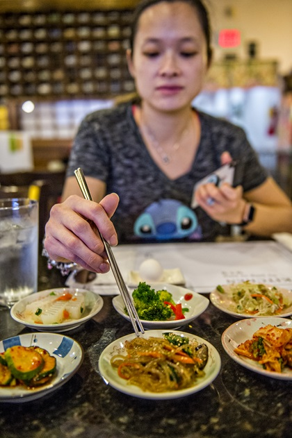 """Jang Su Jang, which means """"The Meeting Place,"""" is a longtime staple in Atlanta's Korean community. You'll find Korean food novices here as well as Koreans dining on authentic classics such as steamed pork belly served with pickled cabbage and galbi-jjim, a slow simmered short rib stew. Photo courtesy of Explore Gwinnett."""