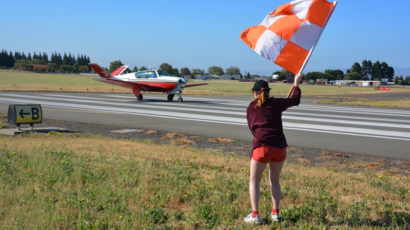 The starting flag will drop October 17 for the 56th Annual Hayward Air Rally. While the rally still consists of two 250-mile legs, pre- and post-rally activities have been dropped or moved online to facilitate social distancing. Photo by Carl La Rue.
