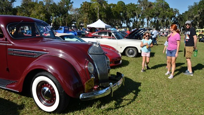 Classic cars were a part of the event as well, with nearly 200 automobiles on display, many winning awards for best in show among various categories. Photo by Chris Eads.