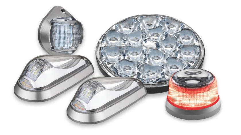 AeroLEDs taxi and landing lights are available for more than 200 makes and models of rotorcraft certified under Part 27. Image courtesy of AeroLEDs.