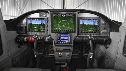 The AOPA Sweepstakes RV–10's digital IFR panel from Advanced Flight Systems provides quadruple redundancy. Photo by Chris Rose.