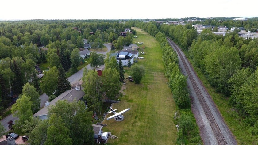 Residents of Flying Crown Airpark, located just south of Anchorage, Alaska, are battling a lawsuit over property rights. Photo by Barry Byne.