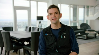 Jared Isaacman will command the Inspiration4 mission. Photo courtesy of Inspiration4.