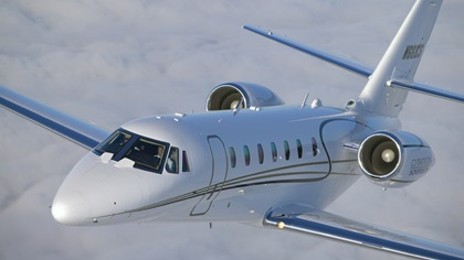 Textron Aviation will no longer produce the Cessna Citation Sovereign line of mid-size jets. Photo by Mike Fizer.