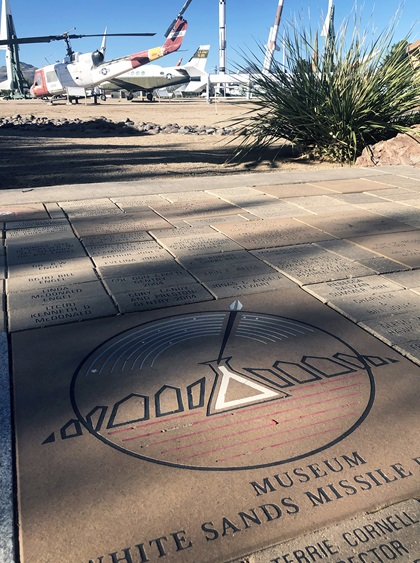 During missile range testing, access roads to and from White Sands Missile Range and the museum and missile park could be blocked. Call 575-678-1178 for the most up-to-date information on operational hours and access. Photo by MeLinda Schnyder.