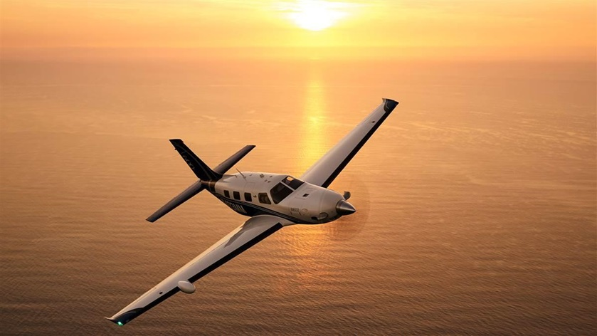 Piper Aircraft announced that the Garmin GWX 8000 weather radar system is certified and available for Piper's M-class line of aircraft. Photo by Chris Rose.