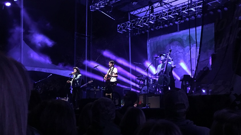 VIP tickets to Roots N Blues afford up-close views of the main stage, which in 2018 featured The Avett Brothers among others. Photo by MeLinda Schnyder.