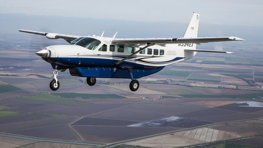 Cessna Grand Caravan EX. Images are courtesy of Textron Aviation.