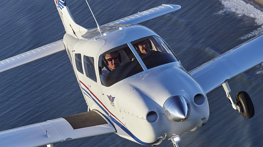 Piper Aircraft Inc. will deliver 20 Piper Pilot 100i training aircraft to flyGateway Aviation Institute. Photo by Mike Fizer.