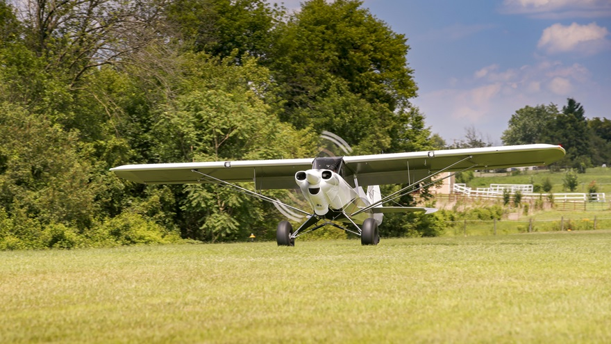 A July 12 FAA directive requires owners of experimental aircraft, such as this homebuilt Carbon Cub FX-3, in which pilots receive training, or the instructors who provide the training for compensation, to obtain a Letter of Deviation Authority from the FAA. Photo by Chris Rose.