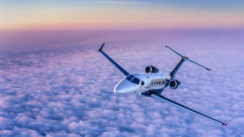 The largest charter and fractional-ownership fleet in the world will add up to 100 Embraer Phenom 300Es in the coming years, as NetJets builds capacity for one of its most popular models. Photo by Mike Fizer.